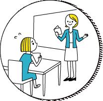 現地の語学学校に馴染めるか不安